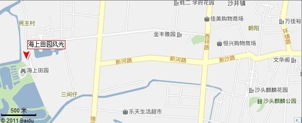 深圳海上田园风光地图