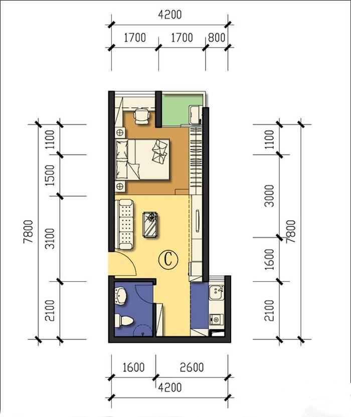 龙海家园公租房基本信息(租金,户型,周边,实景)